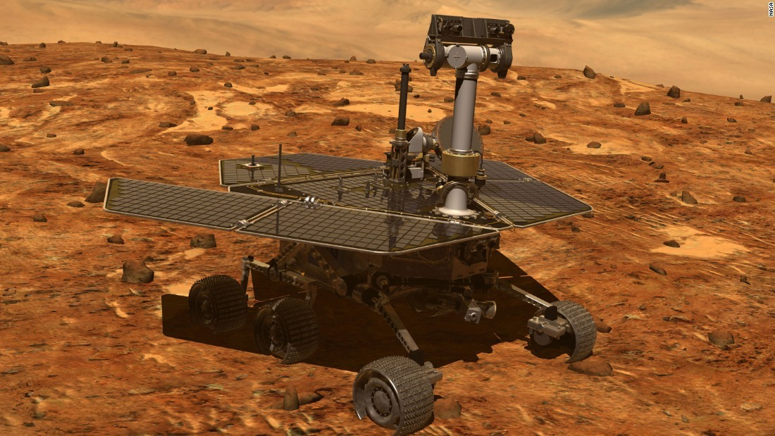 Omenirea spune adio robotului marţian Opportunity