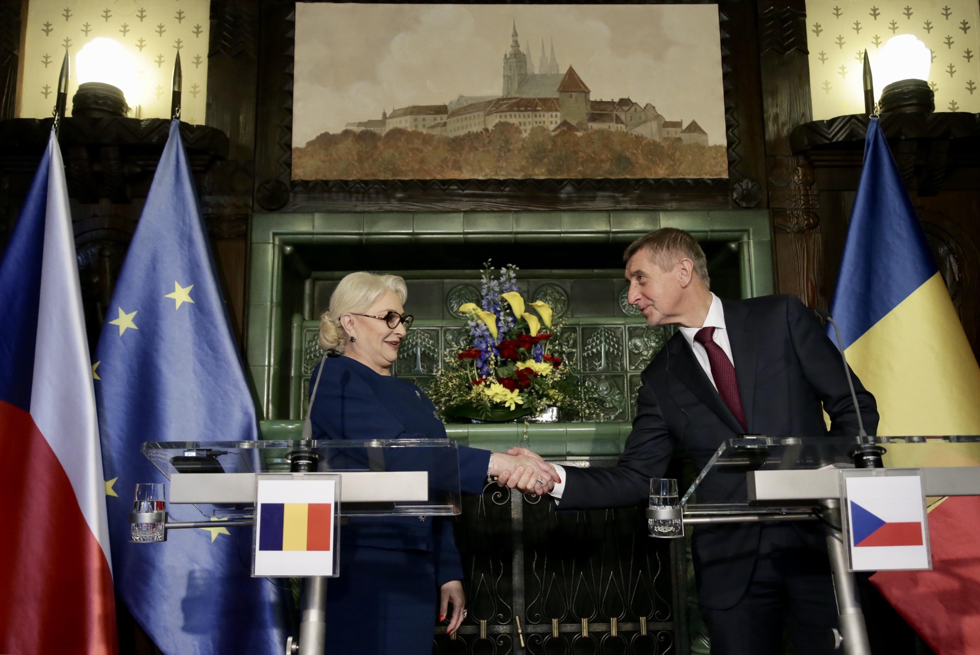 Cehia vrea ca Viorica Dăncilă să reprezinte România la Bruxelles, nu Iohannis
