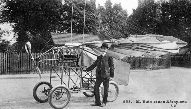 Traian Vuia: 113 ani de la primul zbor autopropulsat din lume