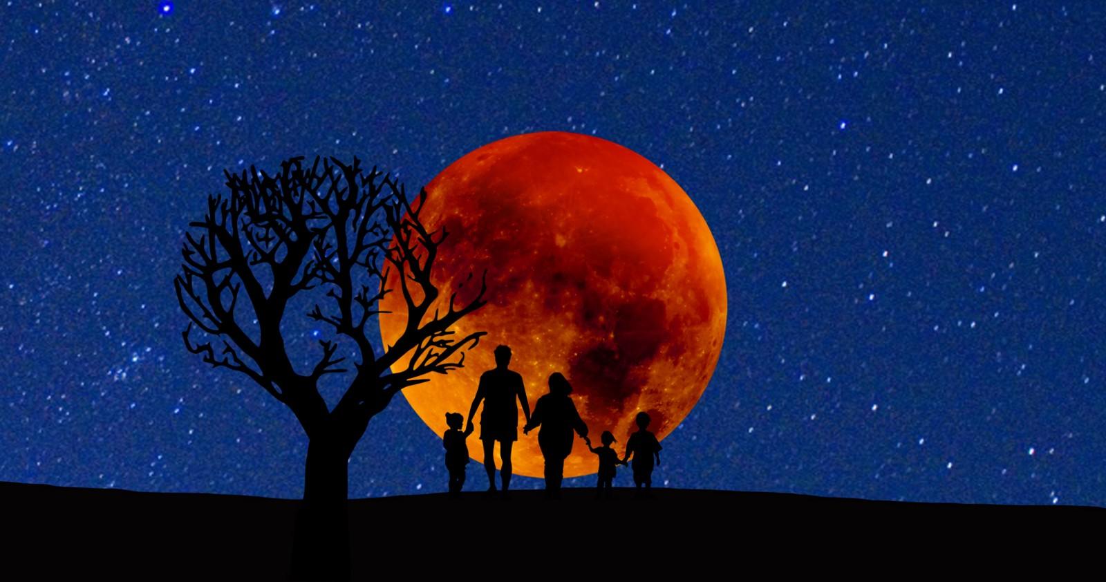 Ce impact va avea SUPER LUNA SÂNGERIE asupra zodiilor?