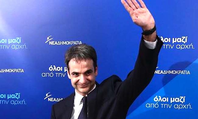 În Grecia revine la putere o dinastia conservatoare