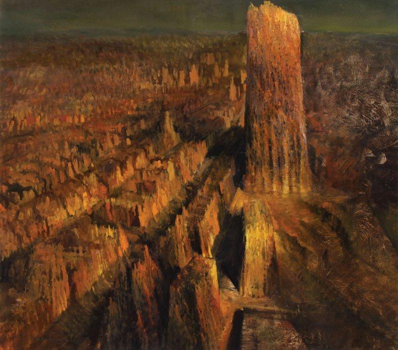 Adrian GHENIE / 105.000 de euro – un tablou vândut în România