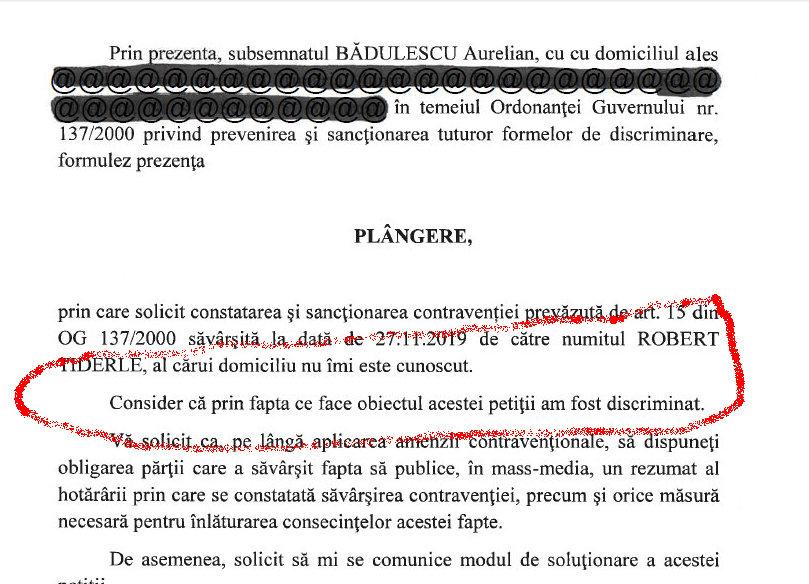 """Bădulescu atacă /Patronul """"Papaya Advertising"""" s-a trezit cu prima plângere pe motiv de discriminare"""