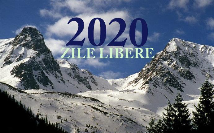Vineri 24 ianuarie liber de la serviciu/ Vezi zilele libere din 2020!