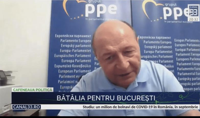 """Traian Băsescu scoate  bazuca: """"VA CANDIDA"""""""