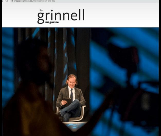 """Cîțu, în revista Grinnell College: """"trebuie să luptăm pentru drepturile gay-ilor și ale lesbienelor"""""""